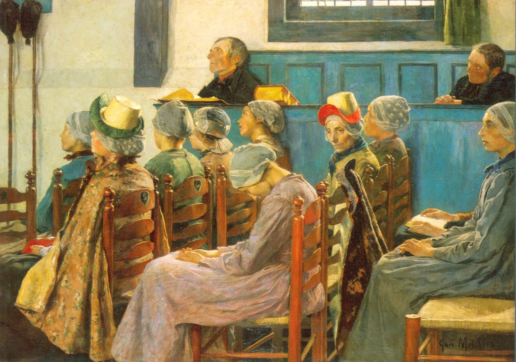 Gari Melchers, The Sermon, 1886, Smithsonian American Art Museum