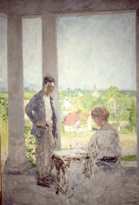 From the Porch, unfinished, 1920s, GMHS