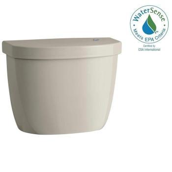KOHLER Cimarron Touchless 1.28 GPF Single Flush Toilet Tank in Sandbar K-5693-G9