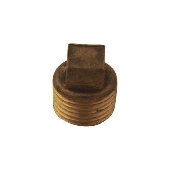 American Standard 1/2 in. Brass Plug for Pipe (Lot of 8)