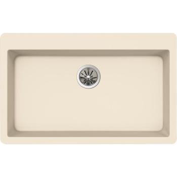 Elkay Quartz Drop-In Composite 33″ 1-Bowl Kitchen Sink in Parchment ELXR13322PA0