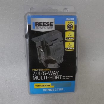 Reese Towpower Professional 7/4/5-Way Multi Port with Dust Cover 8551111