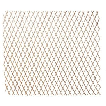 Hampton Bay 48″ H x 120″ L Bamboo Expandable Willow Fence or Trellis (15-Pack)