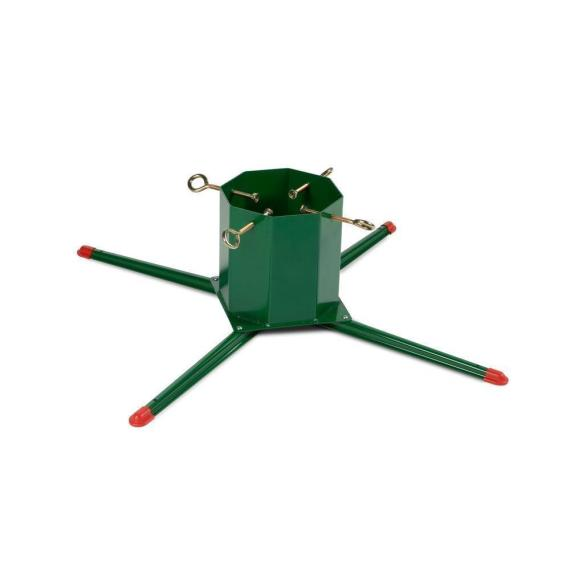 4-Leg Large Metal Live Christmas Tree Stand 14Ft 8.24in Diameter