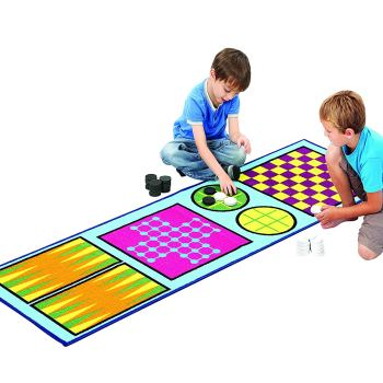 Etna Products 4-in-1 Children's Activity Game Rug