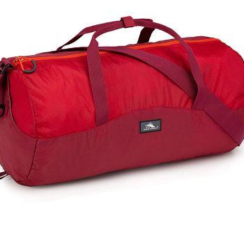 NEW High Sierra Pack-N-Go 18L Duffel Bag in a Bottle Camping Hiking Gym Yoga RED