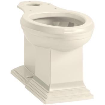 KOHLER Memoirs Elongated Toilet Bowl Only in Almond K-5626-47