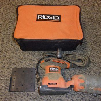 RIDGID 2.4 Amp 1/4 Sheet Sander with AIRGUARD Technology R2501