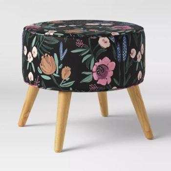 Project 62 Riverplace Round Ottoman Floral