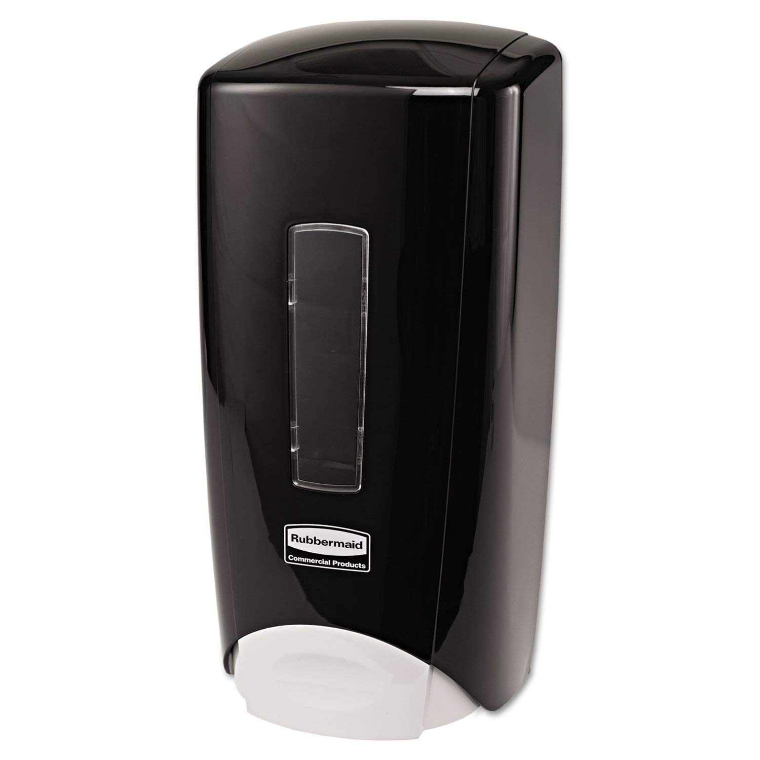 FG750127 Rubbermaid Commercial Products 290281 5.25-Inch Length x 5.18-Inch Width x 10.86-Inch Height Black//Black Pearl Rubbermaid Commercial Wall Mount Auto Foam Dispenser