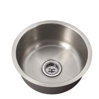 Schon All-in-One Undermount Stainless Steel 16x16x9 1-Bowl Kitchen Sink SCSBR18