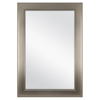 Home Decorators Collection 24″ x 35″ Framed Bath Mirror in Brushed Nickel 81156C