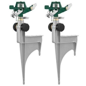 Orbit 2-Pack 6500-sq ft Impulse Spike Lawn Sprinkler 56355