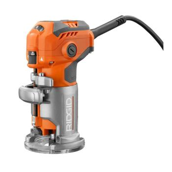 RIDGID 5.5 Amp Corded Compact Fixed-Base Router R24012