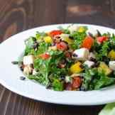 Tangy Italian Black Rice Salad | Garlic + Zest