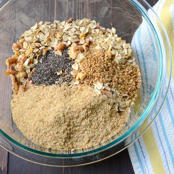 apple walnut spice granola | Garlic + Zest