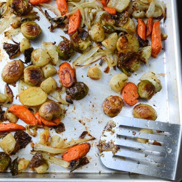 roasted winter vegetables | Garlic + Zest