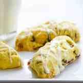 cranberry orange pistachio tea cookies | Garlic + Zest