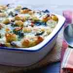 Spinach and Mushroom Strata | Garlic + Zest