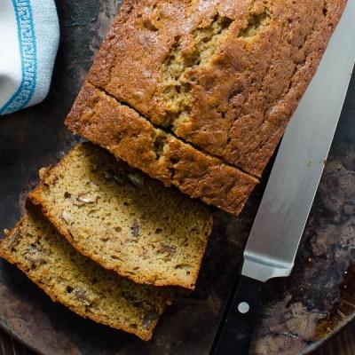 Bourbon Brown Sugar Banana Bread