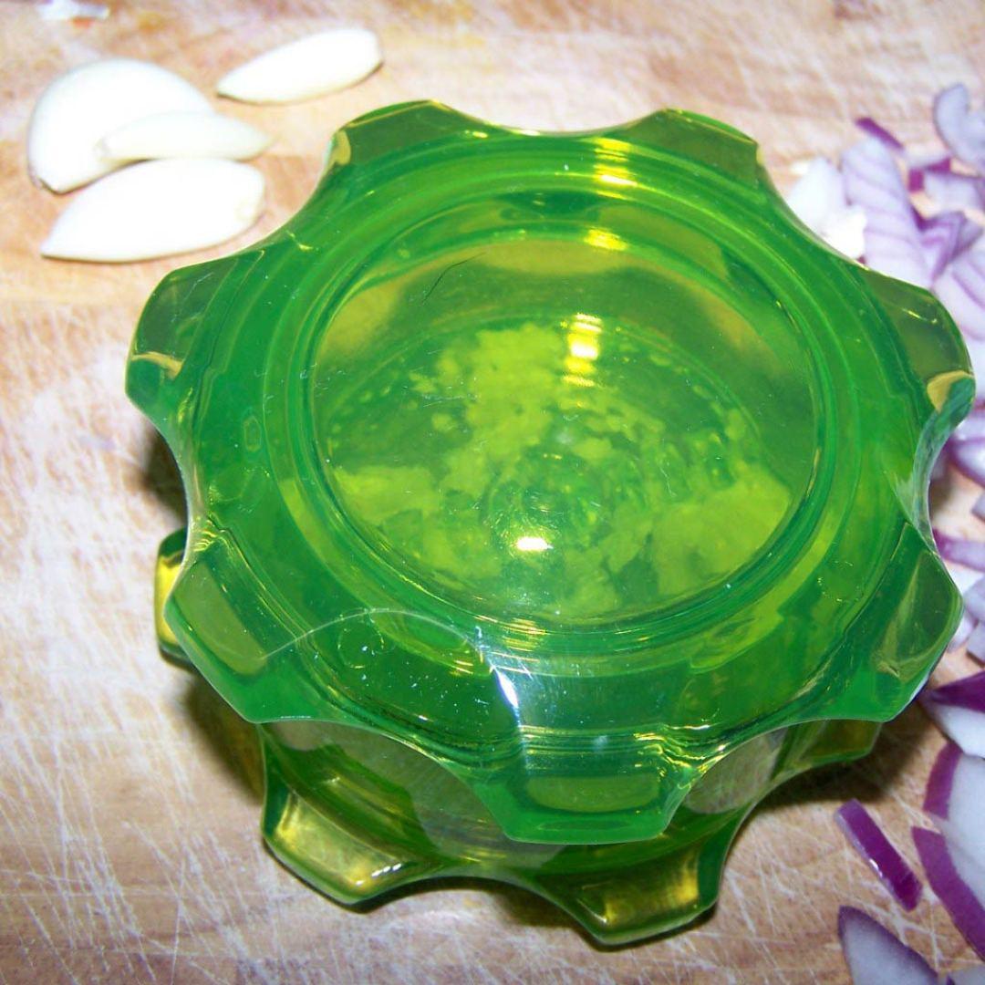 Pictured: garlic twist garlic mincer.