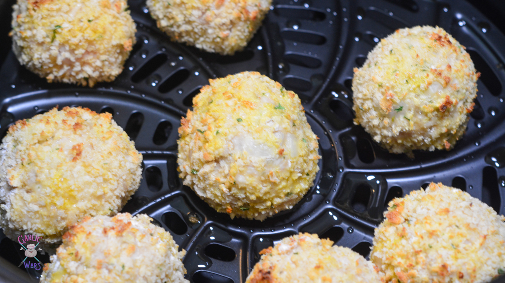 chicken parmesan meatballs in air fryer