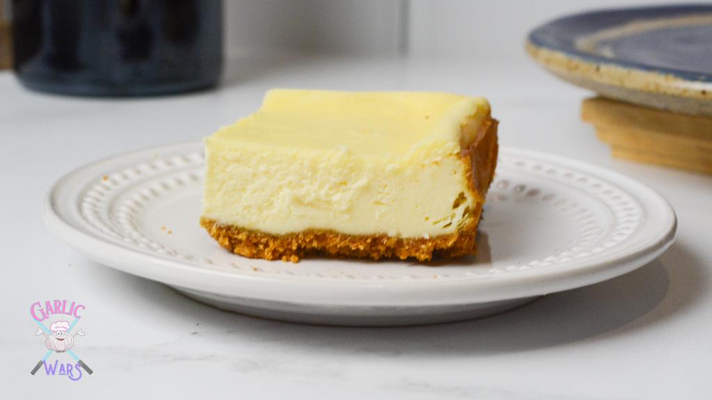 creamy cheesecake bar