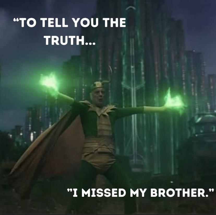 Richard E Grant as Classic Loki