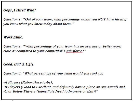 How Do You Rank Your Team?