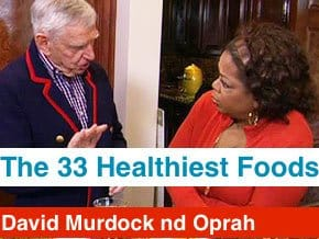 David Murdock and Oprah Winfrey