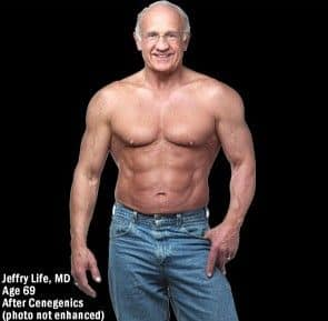 Dr. Jeffry Life at 68 years of age.