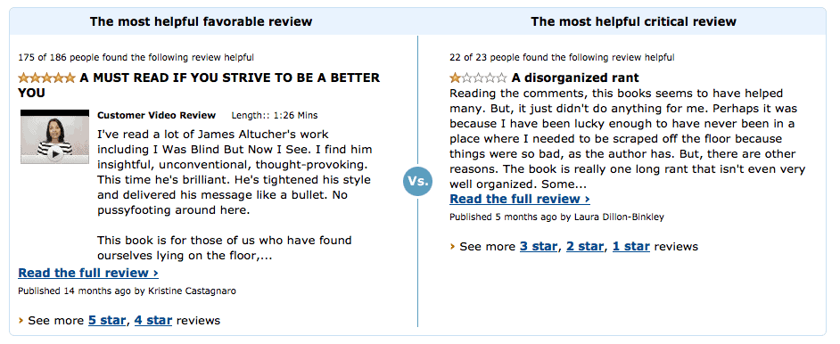 Choose Yourself reviews, pro and con