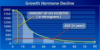 Decline in Human Growth Hormone
