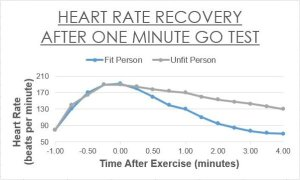 Test how quickly your heart rate recovers from exercise