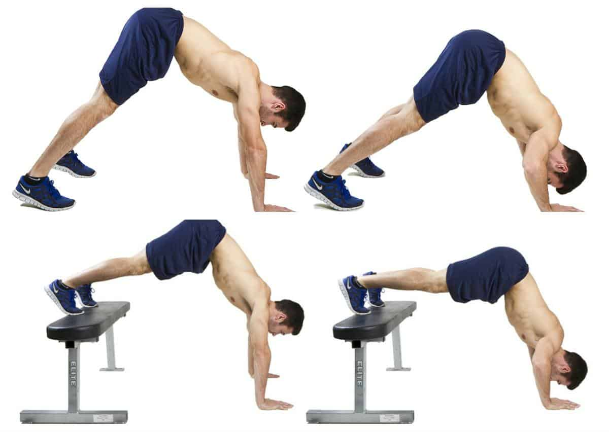 Pike Push-up variations