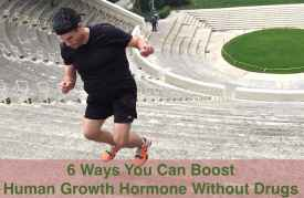 Boost human growth hormone