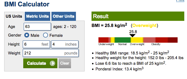 How much should you weigh BMI calculator