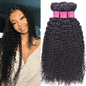 Curly Hair Brazilian Bundle Hair