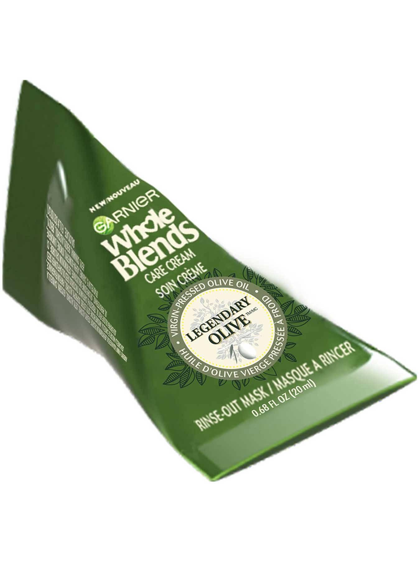 Whole Blends Care Cream Legendary Olive Hair Mask Garnier