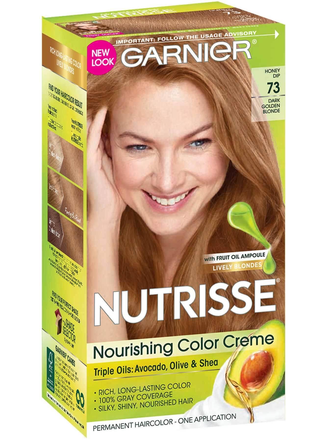 Nutrisse Nourishing Color Creme Dark Golden Blonde 73