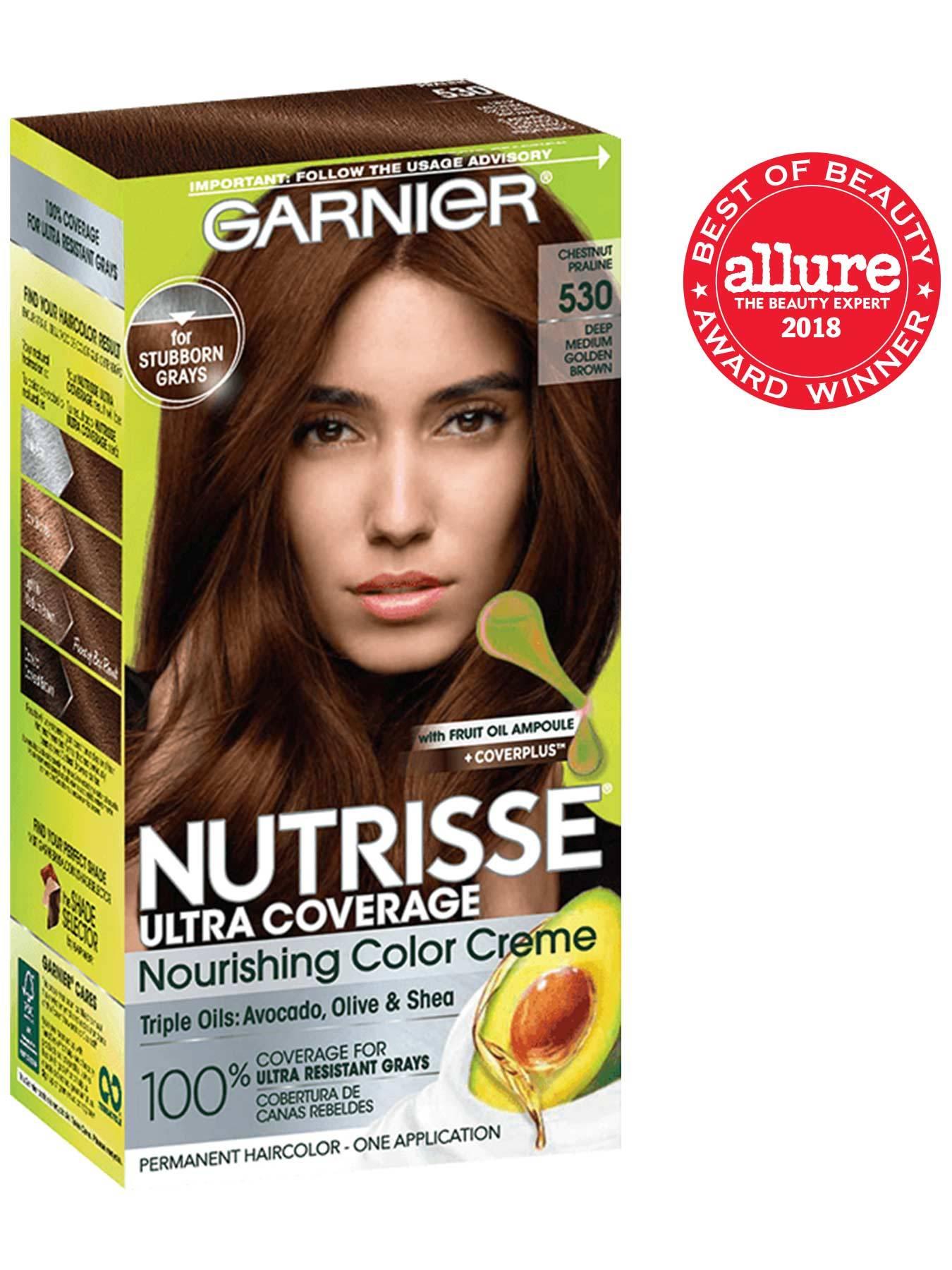 Nutrisse Ultra Coverage Medium Golden Brown Hair Color