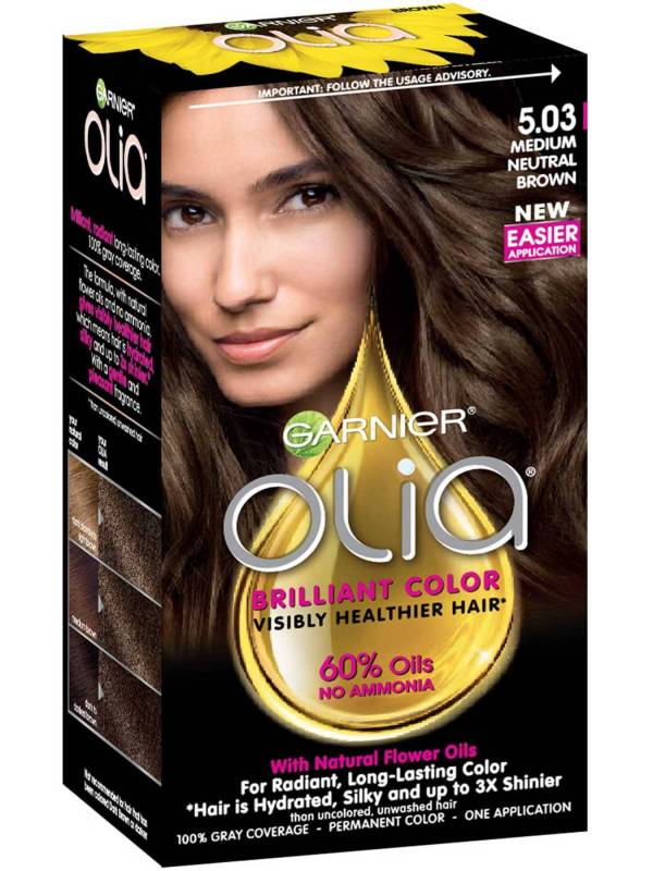Olia Hair Color Oil Powered Ammonia Free Hair Color