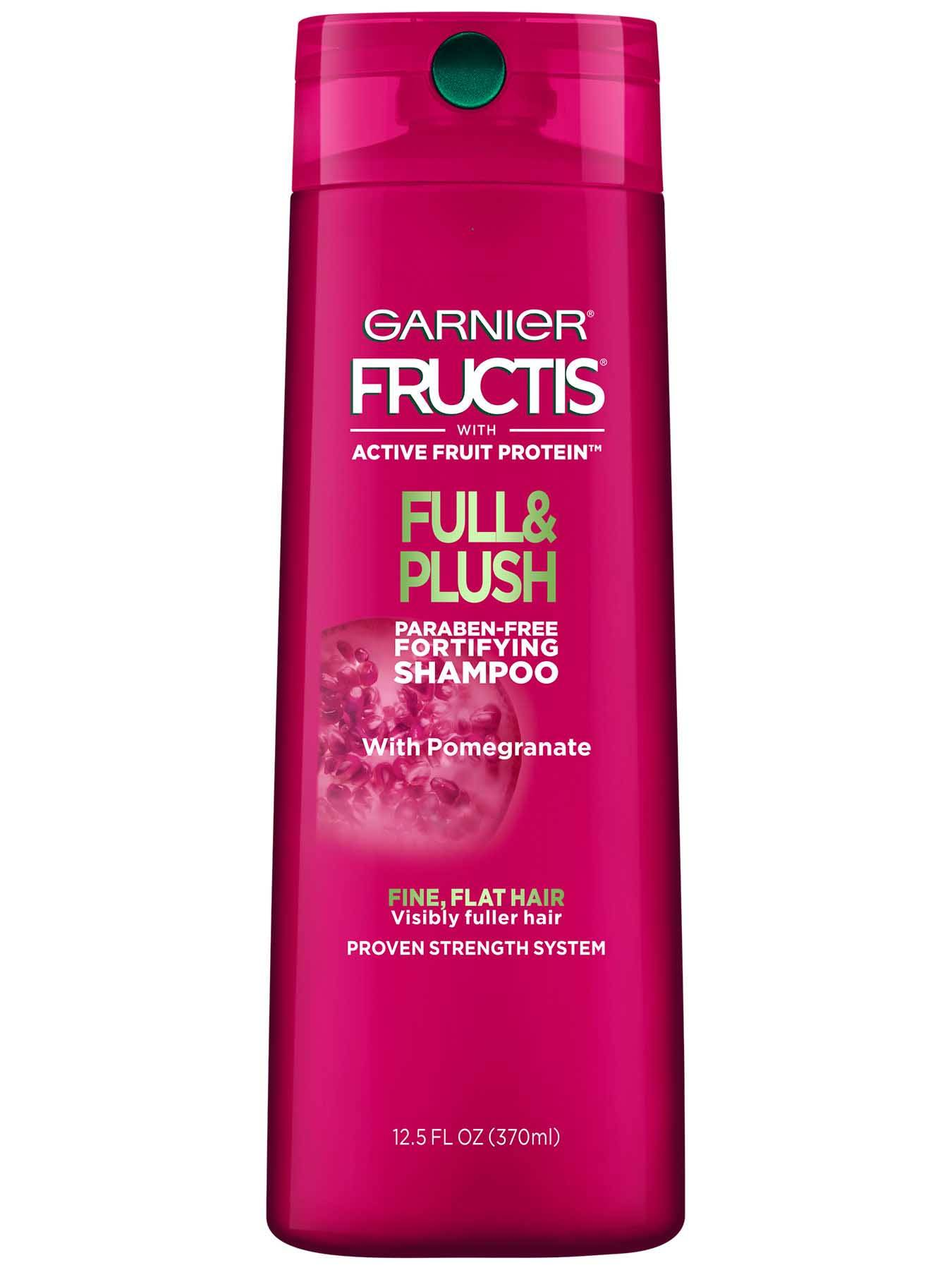 Full Amp Plush Shampoo Thin And Flat Hair Care Garnier