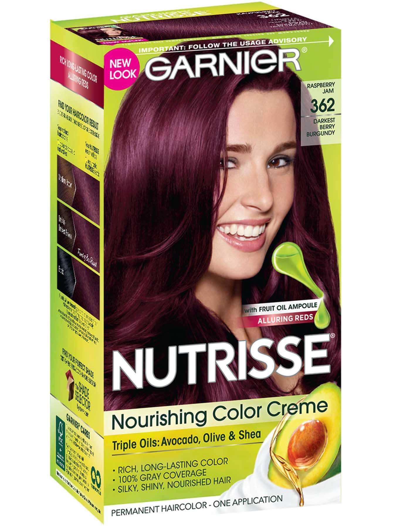 Hair Color Brown Garnier Shades