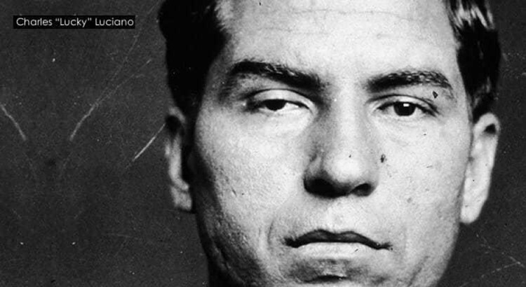 Mafioso Charles Lucky Luciano