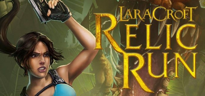 capa Lara Croft Relic Run