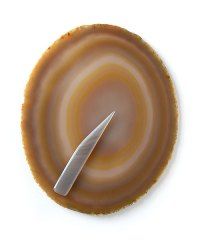 Garreco Natural Agate Palette and Spatula