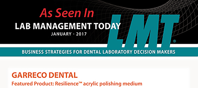 Resilience™ is featured in LMT January 2017