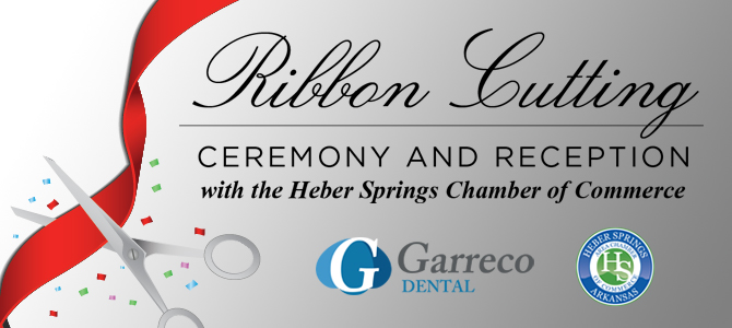 Garreco Ribbon Cutting with the Heber Springs Chamber of Commerce