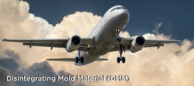 Disintegrating Mold Material – New Product from Garreco